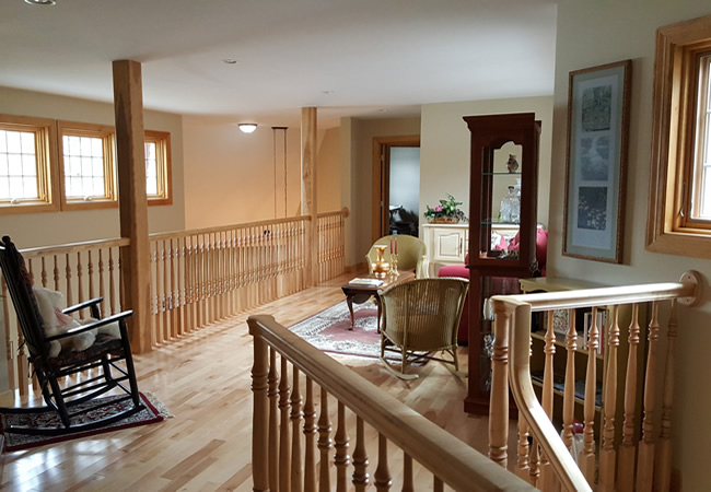 Otter Pond Lake House Interior Upstairs