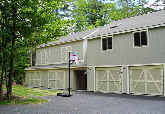 Squash Court Exterior
